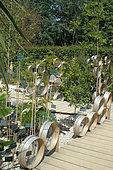Sieve, Themes on Seeds, Chaumont sur Loire Gardens Festival 2015