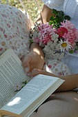 Reading in the country - Relaxing moment - Garden and rest