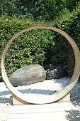 Acorn sculpture on the theme of seeds, Festival Gardens of Chaumont sur Loire 2015