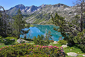 Lake of Aubert, Neouvielle Nature Reserve. Pyrenees, France