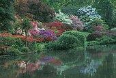 Exbury gardens, Exbury, Southampton, Hampshire, England
