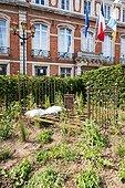 The Ephemeral Gardens of Boulogne-sur-Mer, 9th edition (2015), Pas de Calais. la France