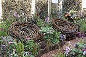 'Jardins Jardin' Session of june 2015, Création de Federica Lodico Rivetti: Inside out 'Le vert urbain n'existe pas'.