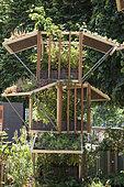 'Jardins Jardin' Session of june 2015, Création Ecole du Breuil Paris
