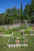 Bartholomew Square foot vegetable garden, Provence, France