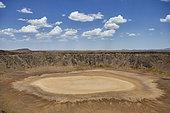 Volcanic crater of Wabah, Najd Plateau, Saudi Arabia