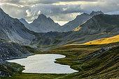 Orrenaye lake, Haute Ubaye, French Alps, France