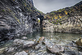 Hellnar Arch, Natural arch, Snæfellsnes Peninsula, Iceland