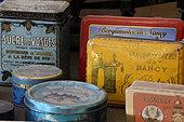 Antique Candy Boxes, Shop Museum Corner, Candy Making, Confectionery of the Hautes Vosges, Plainfaing, France