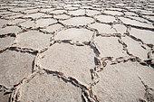Salt Formations on Saltwater Lake, Dallol, Danakil Desert, Ethiopia