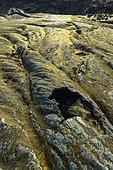 Erta Ale volcano lava, Great Rift valley, Afar region, Ethiopia