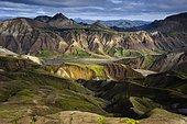 Rhyolite Mountains, Landmannalaugar, Fjallabak Nature Reserve, Highlands, Iceland, Europe