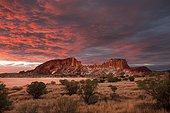 Rainbow Valley, sunrise, Northern Territory, Australia, Oceania