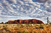Uluru or Ayers Rock, Uluru-Kata Tjuta National Park, Northern Territory, Australia, Oceania