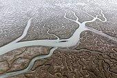 Aerial photography. Bahìa de Cadiz, Spain