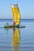 Vezo fischermen, Ifaty Bay, Ranobe lagoon, North of Toliara, Southwestern Madagascar