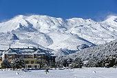Whakapapa skifield, Manawatu-Wanganui, North sland, New Zeland