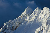 The Pinnacles Montains in whakapapa, Manawatu-Wanganui, North Island, New Zeland
