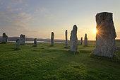 Standing Stones, Callanish, Isle of Lewis, Hebrides, Scotland