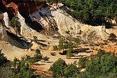 Provencial Colorado near Rustrel, France