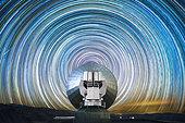 Startrail, La Silla observatory, Chile