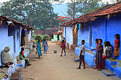 The honey of the untouchables, Hasanur has the colors of easygoing life in a peaceful village. Tamil Nadu, India