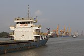 Haiphong commercial port, second largest in Vietnam