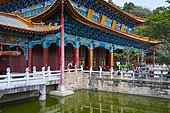 Yuantong Buddhist Temple, Kunming, Yunnan, China