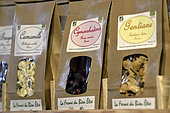 The Ferme du Bien Etre, producer of essential oils, floral waters, herbal tea bags, Le Beillard, Gerardmer, Vosges, France
