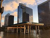 Harvey hurricane effect, Houston, Texas, USA - August / September 2017