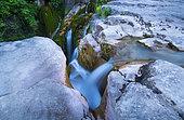 Aso Waterfall, Añisclo Canyon, Ordesa y Monte Perdido National Park, Huesca, Aragon, Spain, Europe