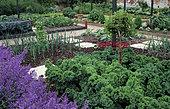 Vegetable garden, Grays Court, England