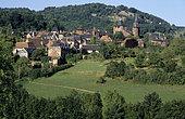 Village of Collonges-la-Rouge, Corrèze, France.
