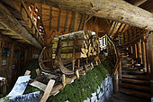 Schlitte, Museum of the Schlitte and the Crafts of the wood, Muhlbach sur Munster, Haut-Rhin, Alsace, Vosges, France