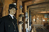 Forest guard, Museum of the Schlitte and the Crafts of the wood, Muhlbach sur Munster, Haut-Rhin, Alsace, France