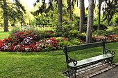 The Jardin Anglais, Vesoul, Haute-Saone, France