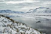 Dalton Highway : from Fairbanks to Prudhoe Bay, (mile 275), Galbraith Lake, Alaska, USA