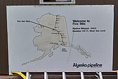 Dalton Highway : from Fairbanks to Prudhoe Bay, At mile 60, gas station and lodge, Alaska, USA