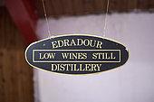 Low wines still board, Edradour Distillery, Highlands, Scotland, United-Kingdom