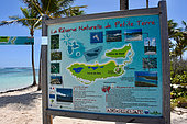 Information Board, Petite-Terre Reserve, Guadeloupe