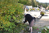 Ecological Funeral, Maintenance of vegetated tombs, France
