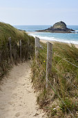Coastal Path, Emerald Coast, Brittany, France