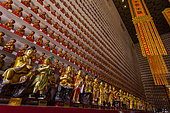 Temple at 10000 Buddhas, Hong Kong, China