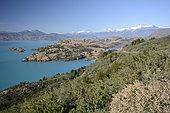 Lago General Carrera, surroundings Puerto Rio Tranquilo, XI Region of Aysén, Chile