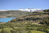 Lago General Carrera and views of Patagonia's Northern Icefield (Laguna San Rafael National Park), surroundings of Puerto Guadal, XI Region of Aysén, Chile