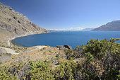 Lago General Carrera at the Reserva Nacional Lago General Carrera, XI Region of Aysén, Chile