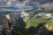 Gorges du Verdon, Verdon Gorge, Parc Naturel Regional du Verdon, Verdon Natural Regional Park, Provence, Provence-Alpes-Cote d'Azur, France, Europe