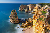 Praia da Marinha, Navy beach, Algarve, Atlantic Ocean, Portugal