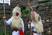 "Carnival ""Sidros y Comedies"", Valdesoto, Asturias, Spain, Europe"