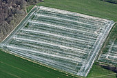 Chemical treatment on a farm plot, Doubs (25), Franche-Comté, France